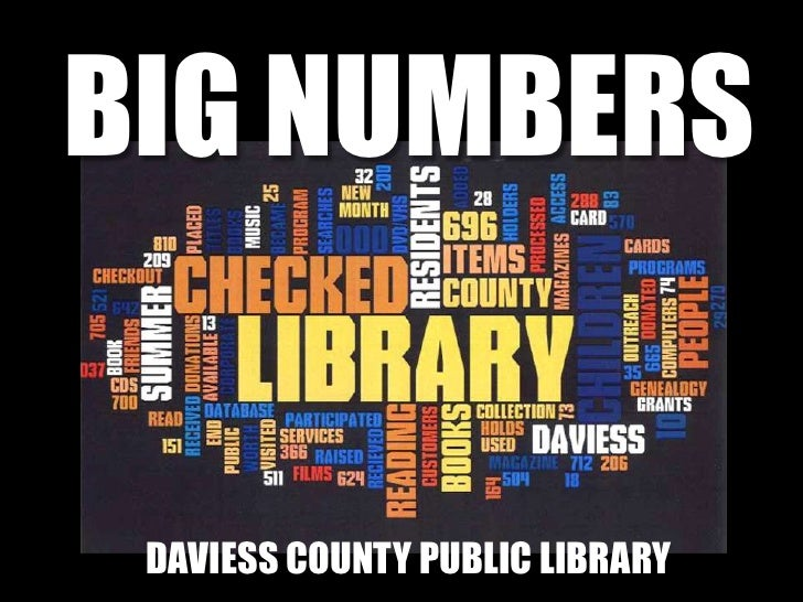 BIG NUMBERS<br />Black is blackA<br />DAVIESS COUNTY PUBLIC LIBRARY<br />