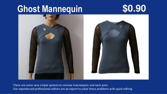 Ghost Mannequin There are some very simple options to remove mannequins and neck joint. Our experienced professional edito...