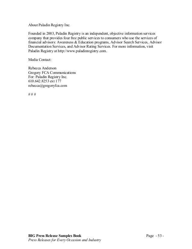 Big press release book fandeluxe Gallery
