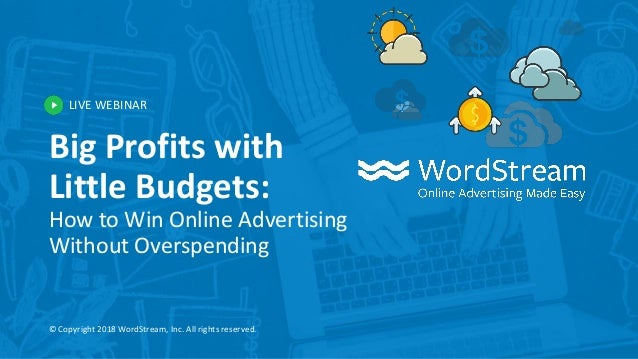 big profits with little budgets how to win online advertising withou