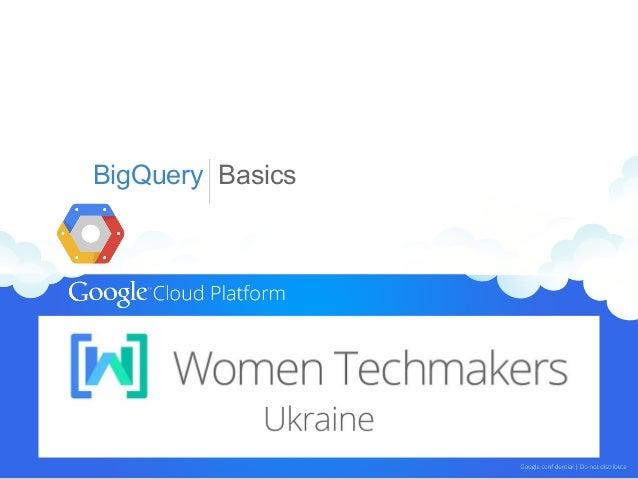 Big Query - Women Techmarkers (Ukraine - March 2014)