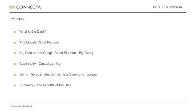 connecta event  big query och dataanalys med google cloud
