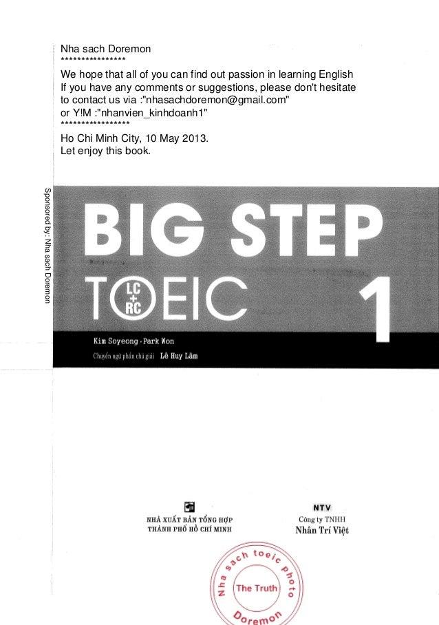 Sach Big Step Toeic 2 Pdf