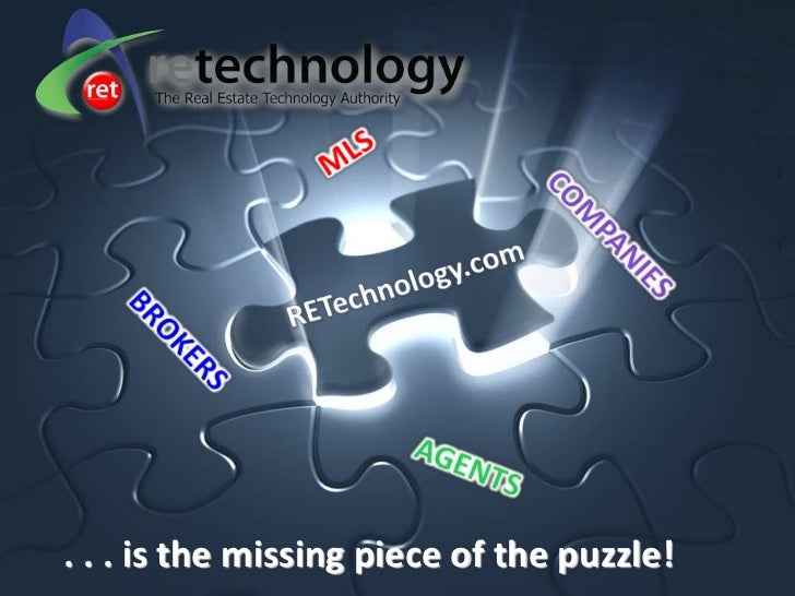 . . . is the missing piece of the puzzle!