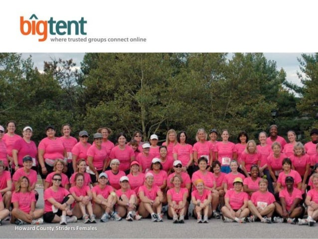 San Mateo Mothers Club, 355 members 1 Will add new photo Howard County Striders Females