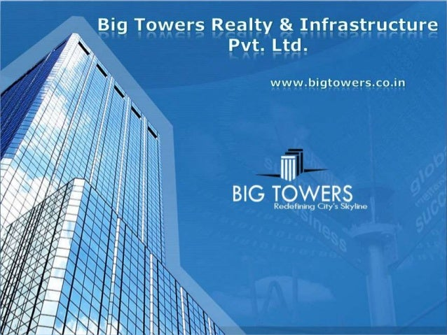 Big Towers is a real estate company that is young, progressive, customer oriented, creative and forward thinking. At the c...