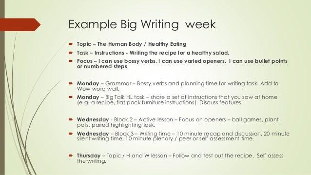 big writing paper