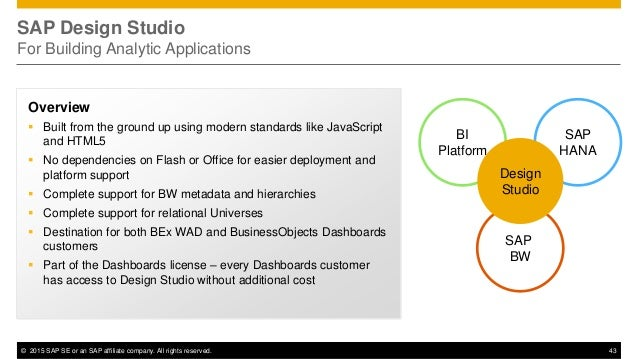 sap businessobjects design studio installation guide