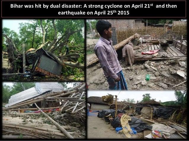 Goonj's RAHAT efforts in Cyclone & Quake affected Bihar Slide 2
