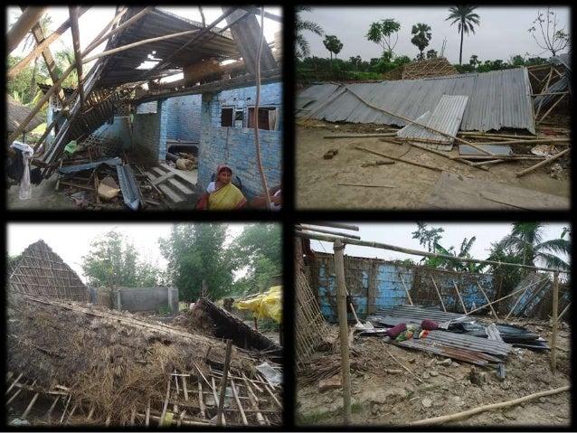 Goonj's RAHAT efforts in Cyclone & Quake affected Bihar Slide 3