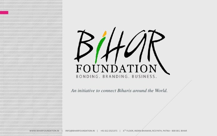 An initiative to connect Biharis around the World.<br />