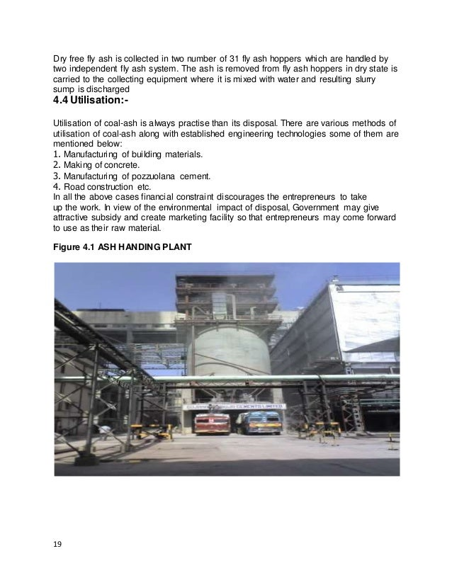 Training Report On Barauni Thermal Power Station