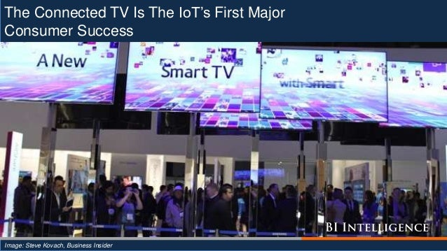 The Connected TV Is The IoT's First Major Consumer Success Image: Steve Kovach, Business Insider