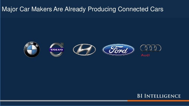Major Car Makers Are Already Producing Connected Cars