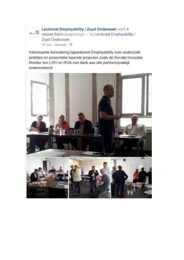 Bijeenkomst eerste kenniskring Employability juli 2015