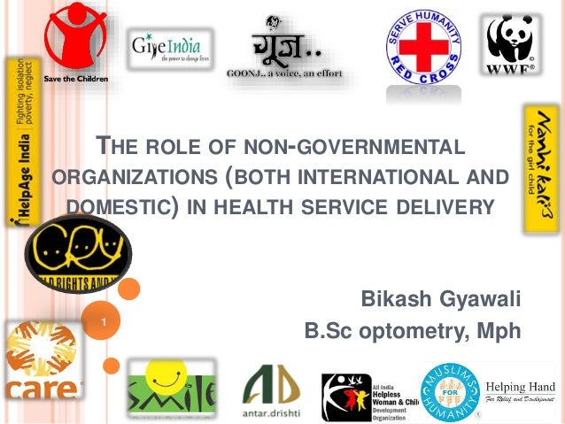 the role of an ngo in The role of non-governmental organizations in the delivery of health services in developing countries (english) abstract the world bank's world development report 1993: investing in health, the sixteenth in the world development report series, examined the interplay between human health, health policy, and economic development.