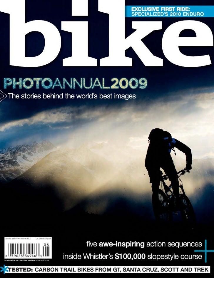 Bike photo anual