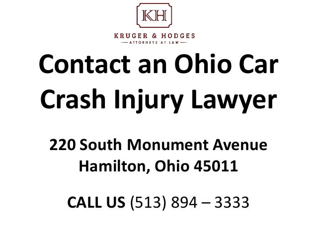 Bike Accident Attorney Butler County Ohio