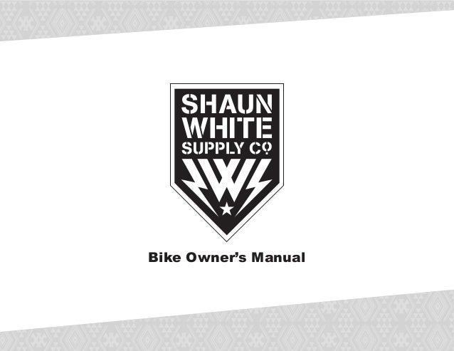 Bike Owner's Manual