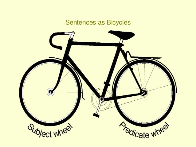 Sentence Bikes Part I