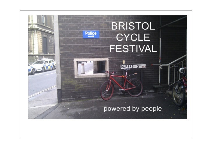 BRISTOL  CYCLE FESTIVALpowered by people