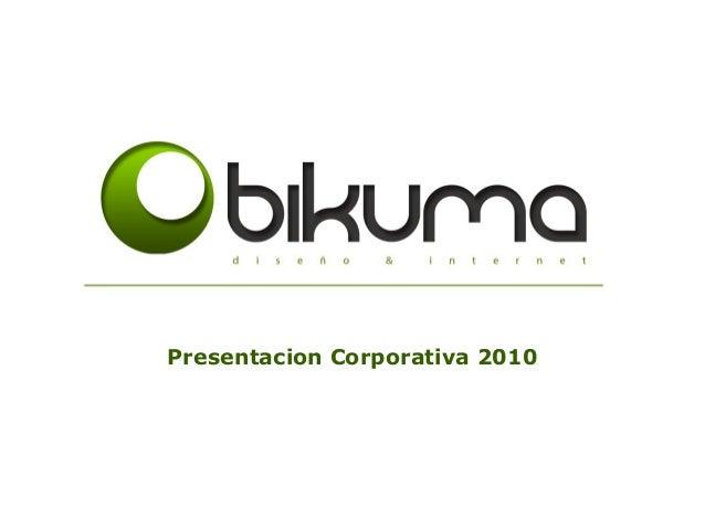 Presentacion Corporativa 2010