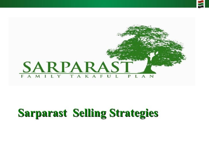 Sarparast  Selling Strategies
