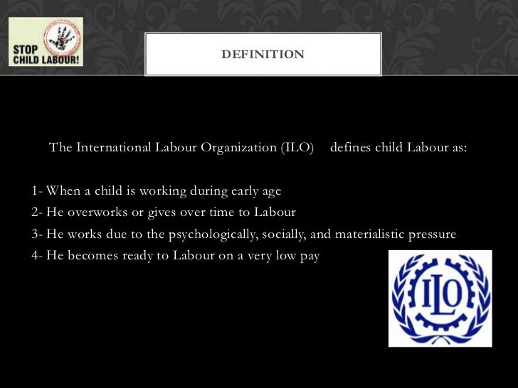 a discussion on the serious issue of child labor in our society Child labor is really a social problem in our society  child labor is not an easy issue  police and court resources would be freed to pursue more serious .