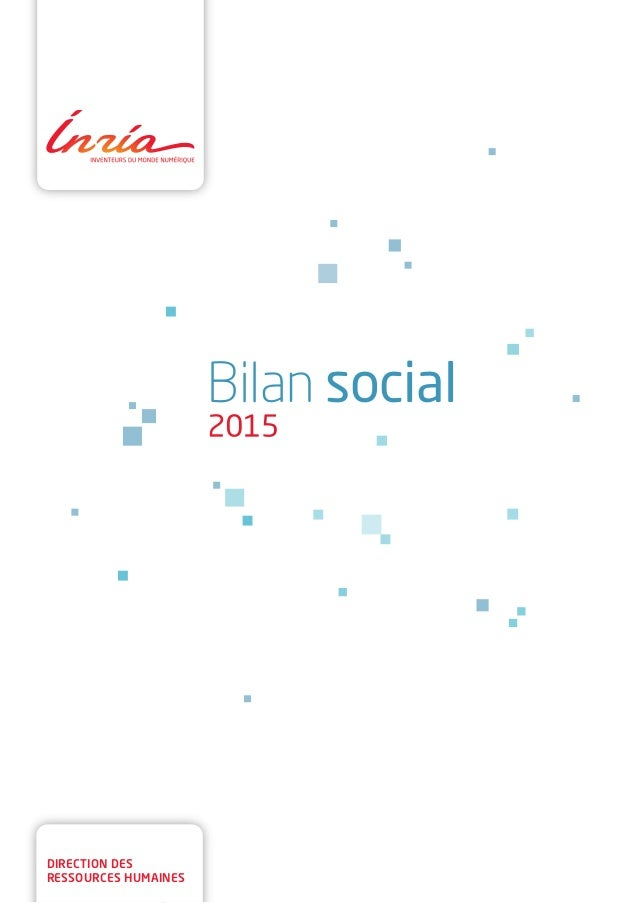 direction des ressources humaines Bilan social 2015