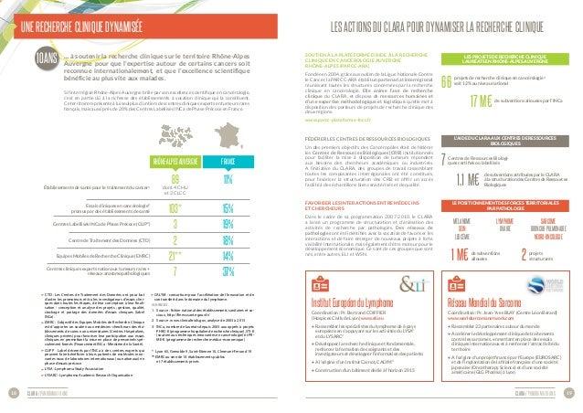 CLARA / panorama 10 ans 19CLARA / panorama 10 ans18 CTD : Les Centres de Traitement des Données ont pour but d'aider les p...