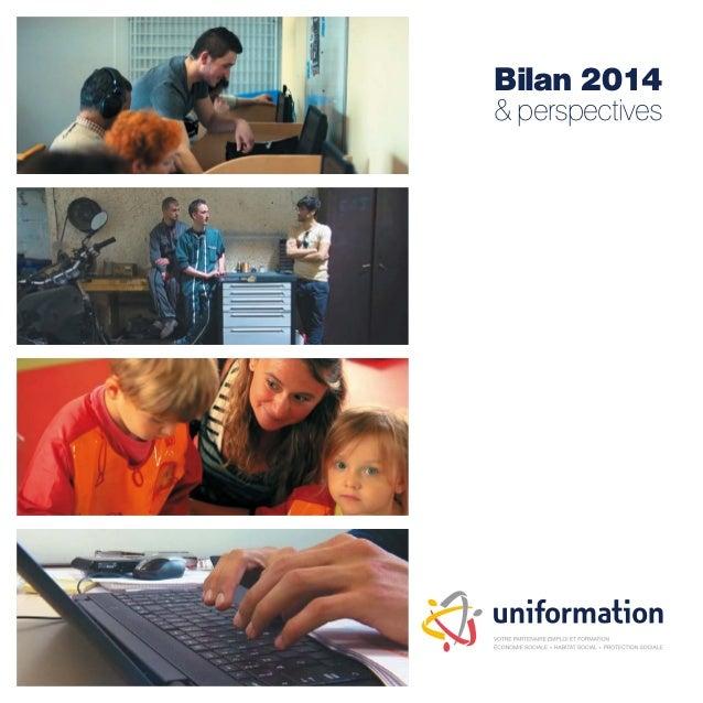 Bilan 2014 & perspectives