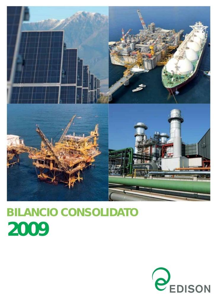 BILANCIO CONSOLIDATO2009