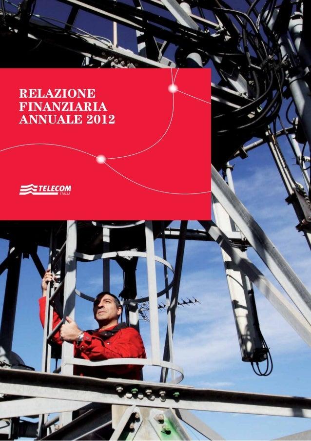 RELAZIONEFINANZIARIAANNUALE 2012RELAZIONEFINANZIARIAANNUALE2012