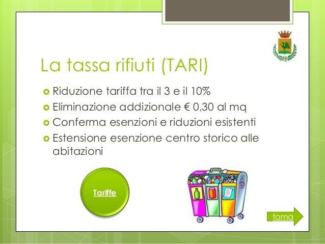 Bilancio in chiaro for Tari utenze non domestiche