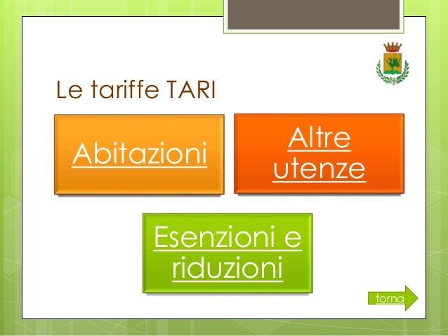 Bilancio in chiaro 2014 citt di melfi for Tari utenze non domestiche