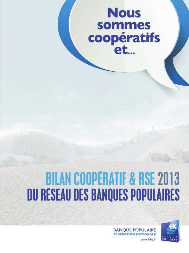 Bilan Coopératif & RSE2 ...ça se voit !
