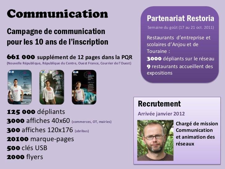 Communication                                                                       Partenariat Restoria                  ...