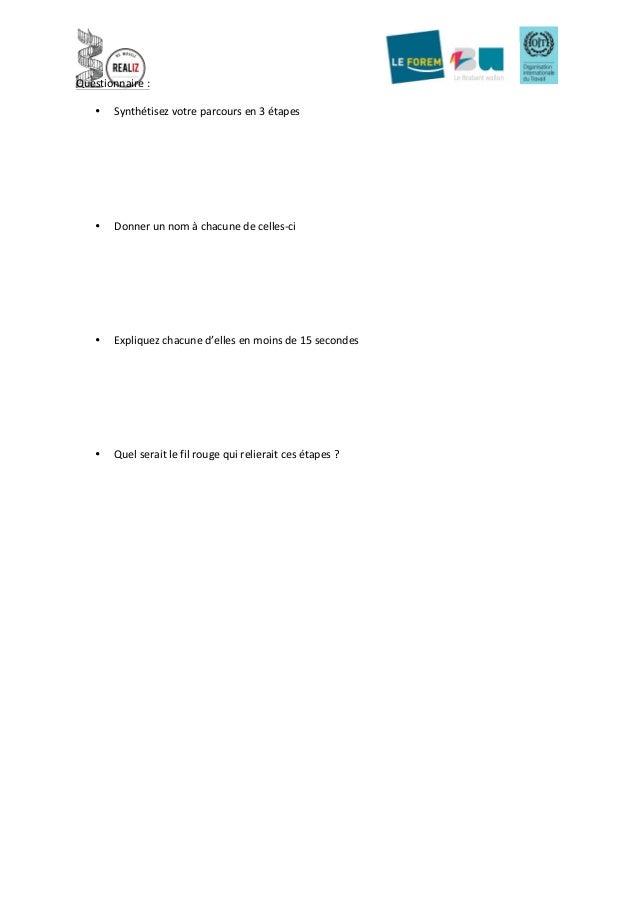 bilan de comp u00e9tences  tests de personnalit u00e9 et objectifs