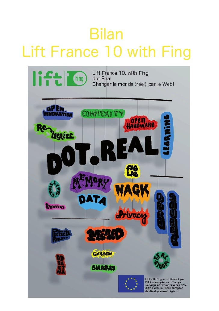 Bilan Lift France 10 with Fing