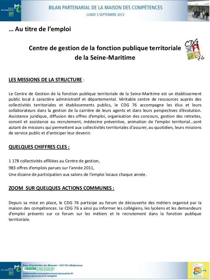 LE MOT DE LA PRÉSIDENTELe recrutement de nouveaux collaborateurs est devenu, pour les élus des collectivités territoriales...
