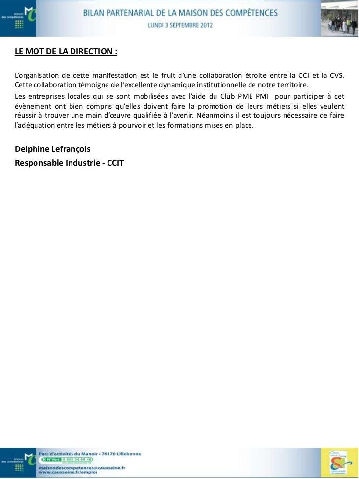 …         Maison de l'Emploi et de la Formation du Bassin DieppoisLES MISSIONS DE LA STRUCTURE :- développer une stratégie...