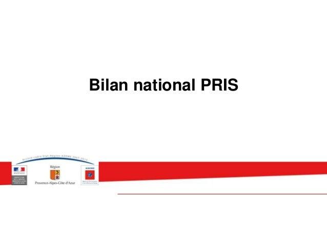 Bilan national PRIS