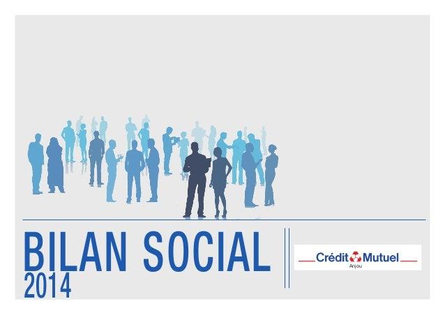 Anjou BILAN SOCIAL2014