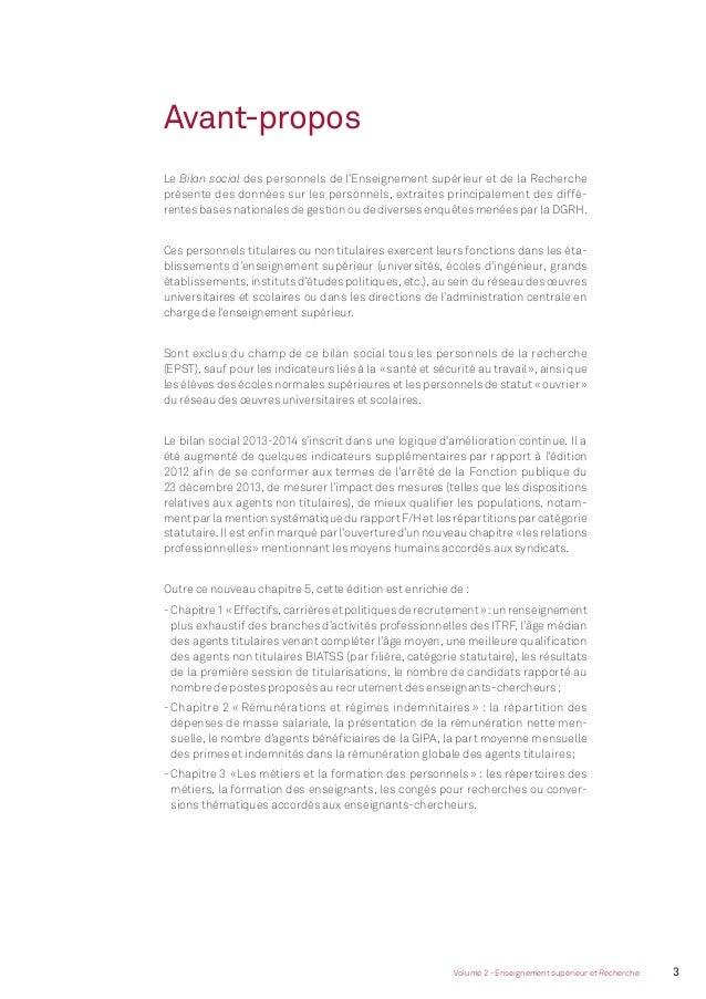 4 Bilan social du ministère de l'Éducation nationale, de l'Enseignement supérieur et de la Recherche - 2013-2014 MEN_Bilan...