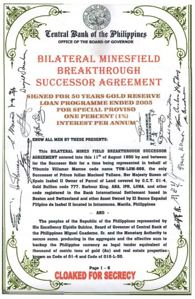 BILATERAL AGREEMENT