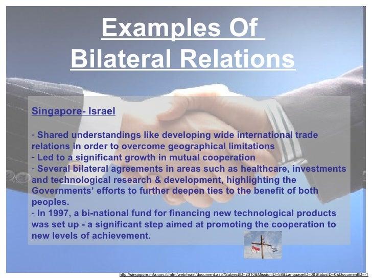 Bilateral Relations 1