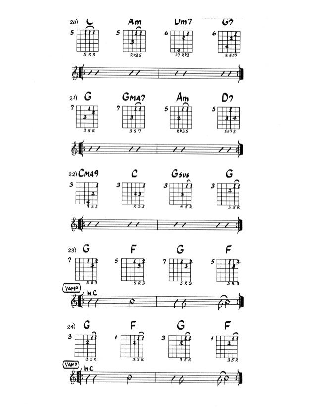 Bilbia De Acordes Para Jazz