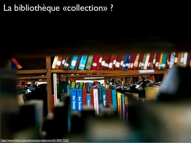 La bibliothèque, un espace de participation Slide 2