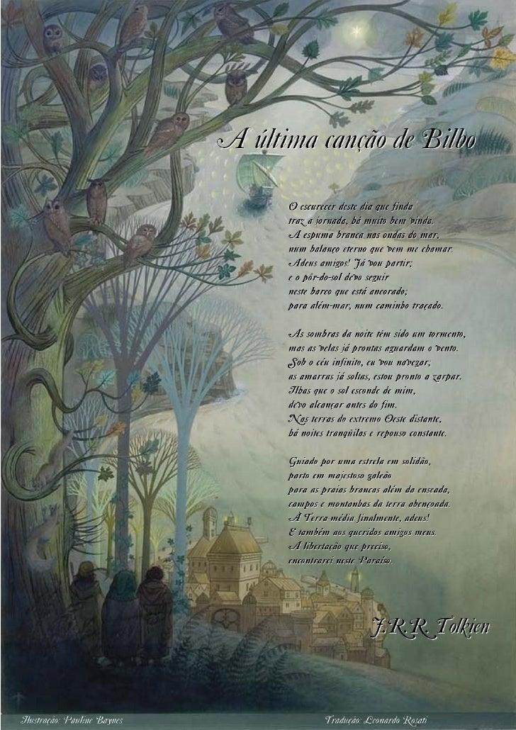 A Ultima canção de Bilbo