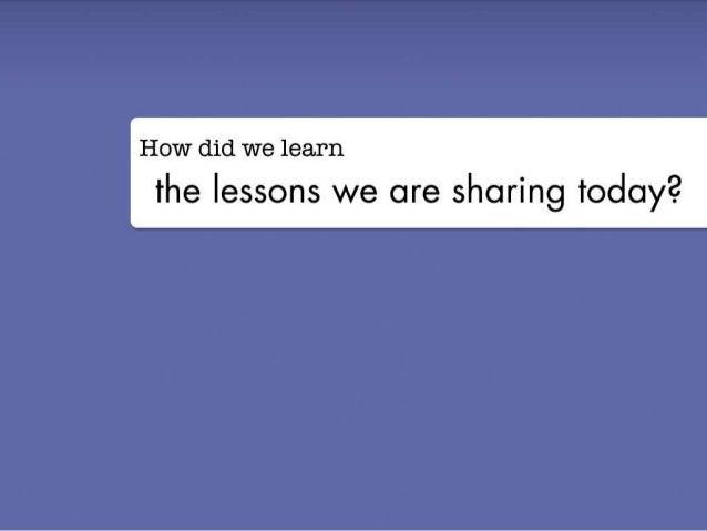 George Bilbrey - 2012 Lean Startup Conference Slide 2